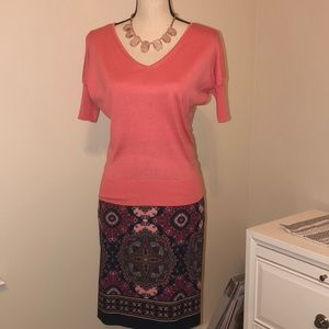 🌺 Talbots petite skirt set size 4P
